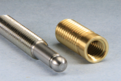 Stainless and Brass mating parts