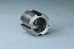 Multiple operations machined complete in less than a minute.
